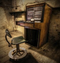 An abandoned World War 2 Telephone Exchange.