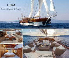 """Check out the Virtual Tour of #Croatian #gulet LIBRA n' get that """"yup let's book"""" feeling :)"""