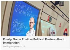 @HuffPostUK reports on the campaign highlighting the contribution of immigrants to the UK http://huff.to/1vCZmvt