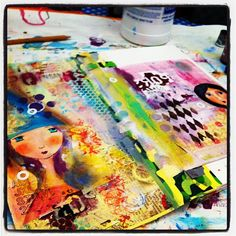 flickr art journal group  By Pretty Days - NESSA