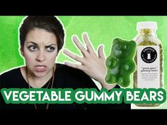 Trying The Sold Out Green Juice Gummy Bears