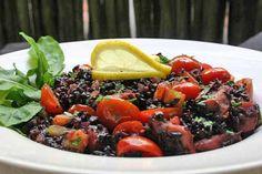 Risoto de arroz negro com polvo - Morena Leite, Capim Santo