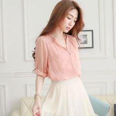 Buy 'Tokyo Fashion – Chiffon Shirt' with Free International Shipping at YesStyle.com. Browse and shop for thousands of Asian fashion items from Taiwan and more!