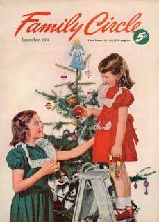 Vintage Christmas Magazine ~ Family Circle ©December, 1950