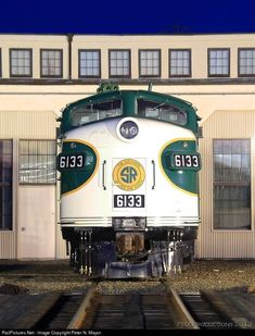 Southern Railway EMD FP7 at Spencer, North Carolina by Peter N. Mayor