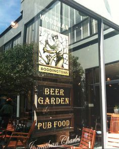 The Beer Garden at Johnathan Charles is too cool! Make sure you check it out at #HPMKT. Located at W 200 N. Hamilton Street.