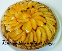 julia child.Tarte aux pommes en español