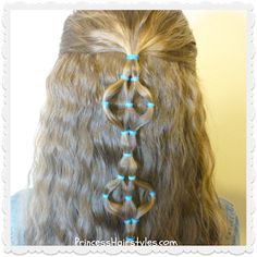 Hairstyles for girls, cute hairstyles & tutorials for waterfall braids, fishtail braids, how to french braid, dutch braid & prom hairstyles. Cute Hairstyles Updos, Princess Hairstyles, French Braid Styles, Cute Updo, Medium Hair Styles, Long Hair Styles, Finger Wave Hair, Half Up Half Down Hair, Hair Art