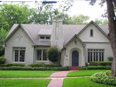 Brick homes across the country are getting facelifts with fresh coats of paint. Tudor, traditional and even ranch styles are perfect candid...