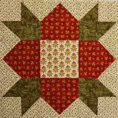 Sewing Block Quilts Maybe I'll use this for our barn quilt block. Chock-A-Block Quilt Blocks: Weathervane Crazy Quilt Blocks, Star Quilts, Mini Quilts, Paper Piecing Patterns, Quilt Block Patterns, Pattern Blocks, Quilting Projects, Quilting Designs, Quilting Blogs