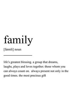 Beyond blessed 👨👩👦👦❤️ The Words, Family Quotes, Life Quotes, Citations Film, Mom Quotes From Daughter, One Word Quotes, Unusual Words, Aesthetic Words, Quote Prints