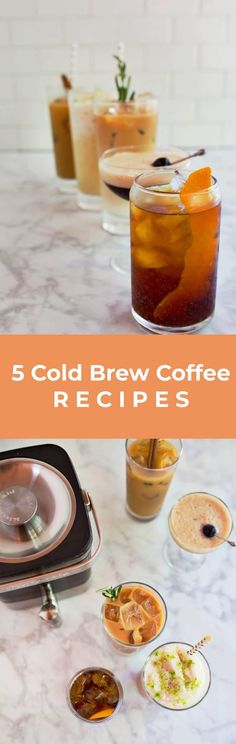 5 Cold Brew Coffee Recipes – A Beautiful Mess