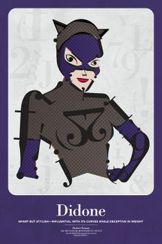 Typography And Their Superhero Representations