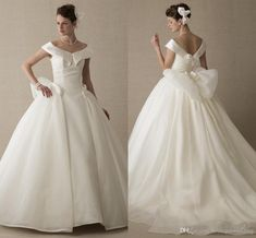 Simple Ball Gown Wedding Dress - Best Dresses for Wedding Check more at http://svesty.com/simple-ball-gown-wedding-dress/