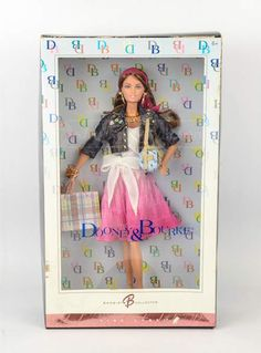 shopgoodwill.com: Dooney Bourke Barbie Collector Pink Label Doll $22