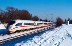 Die Deutsche Bahn im Winter!
