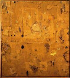 Alberto Burri (1915-1995),  Sacco e oro 1953