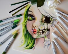 I am Life and Death by Lighane on DeviantArt