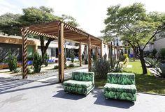 O paisagista Marcelo Faisal usou seu ambiente para colocar em pauta as crises econômica e hídrica que o Brasil enfrenta. Para tanto, montou um jardim 100% sustentável - Ademilar