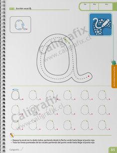Trazos y Letras Nº1 Joseph, Album, Home Preschool, Learning To Write, Letter N, Card Book