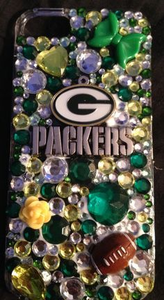 Green Bay Packers bling cellphone case