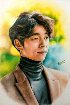 Our Art Corner - Going Yoo, pencil colors practice (drawing by DArtYap)