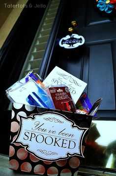 youve been spooked free printables at tatertots and jello