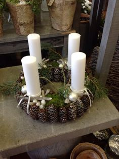 Billedresultat for 2016 juletrend Images for the Christmas trend 2016 Christmas Advent Wreath, Christmas Candles, Christmas Centerpieces, Christmas Decorations, Advent Wreaths, Christmas Trends, Christmas 2014, Christmas Inspiration, Christmas Images