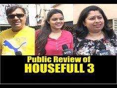 WATCH Public Review of HOUSEFULL 3 | Akshay Kumar, Abhishek Bachchan.  See the full video at : https://youtu.be/A4lNBjKNhbU #housefull3