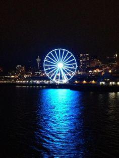 Seattle Seahawk blue