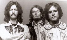 Late bassist Jack Bruce (far right) said Atlantic Records initially tried to promote Eric Clapton (far left) as front man for Cream while recording the Disraeli Gears album in 1967.  (Courtesy of Wikipedia)