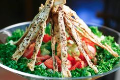 Fattoush Salad - I want to see if this dressing is as good as the one at the local spots