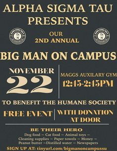 #AST Big Man on Campus