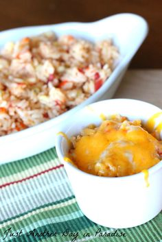 Cheesy Spanish Rice | Just Another Day in Paradise
