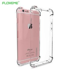 FLOVEME Fashion Crystal Clear Soft TPU Case For iPhone 6 6S iPhone6 6 S 4.7inch Luxury Classic Slim Transparent Phone Cover Capa #clothing,#shoes,#jewelry,#women,#men,#hats,#watches,#belts,#fashion,#style