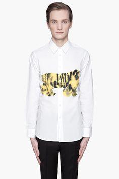 MARNI - White Tiger Print button up Shirt $465