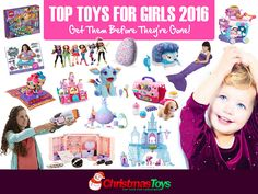 Top Toys for Girls 2016 are here! Check out the best Christmas toys 2016 for girls. Read our top toy reviews to find out which toys are hottest for Christmas 2016-2017.