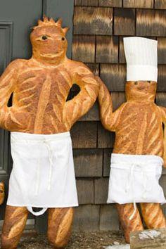 Bread Sculpture Art