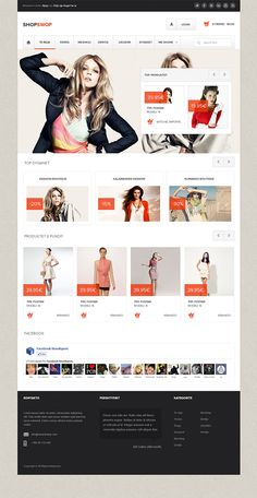 ShopSwop - Clothing Shop on Behance