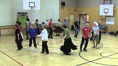 DANCING ON WATER Circle Dance at 2014 SIFD Surrey Int'l Folk Dance Workshop