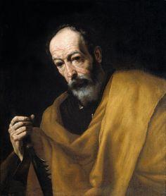 St Simon, par José de Ribera (lo Spagnoletto)