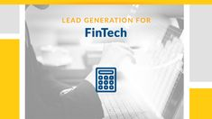 Engage and convert high-value FinTech leads and prospects by leveraging our account-based lead generation solutions optimized for FinTech selling. Feel free to contact us if you have any questions or want to learn more, give us a call! Event Marketing, Digital Marketing Services, Marketing And Advertising, Lead By Example Quotes, Marketing Automation, Competitor Analysis, Lead Generation, Case Study, Finance