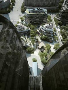 Chaoyang Park Plaza Hochhaus, Beijing - MAD