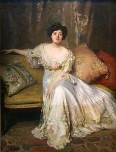 Miss Julia Marlowe, 1901, by Irving R. Wiles (1861-1948).