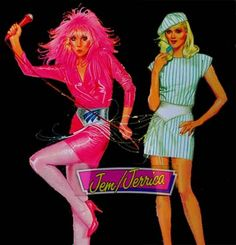 Jem and the Holograms 80's Cartoon