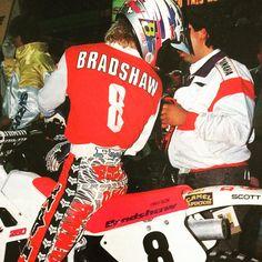 1990 AMA Supercross Ktm Dirt Bikes, Beast From The East, Vintage Motocross, Fox Racing, Damon, Baseball Cards, Instagram, Arcade, Motorcycles