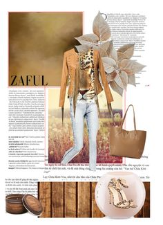 """zaful"" by lana-97 ❤ liked on Polyvore featuring Balmain, Kate Spade and Archipelago Botanicals"