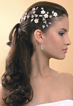 tule cabelo noivas - Pesquisa Google