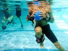 Cardio Core Ball Running
