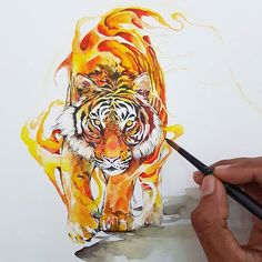 Uma verdadeira explosão de cores nas aquarelas de Jongkie - Uma arte fluída, leve e colorida. É assim que podemos descrever as aquarelas do indonésio Jongkie, que cria belos desenhos de forma muito especial.